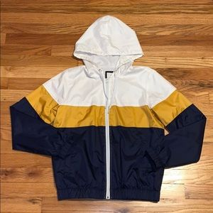 White/Orange/Blue Forever 21 Jacket